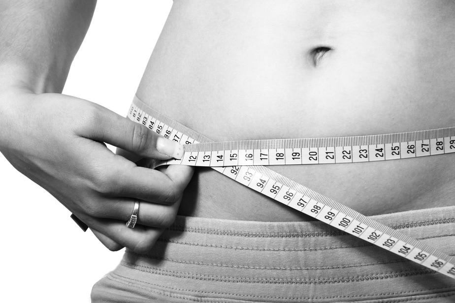 Frau abnehmen Erfolg Körperfettanteil
