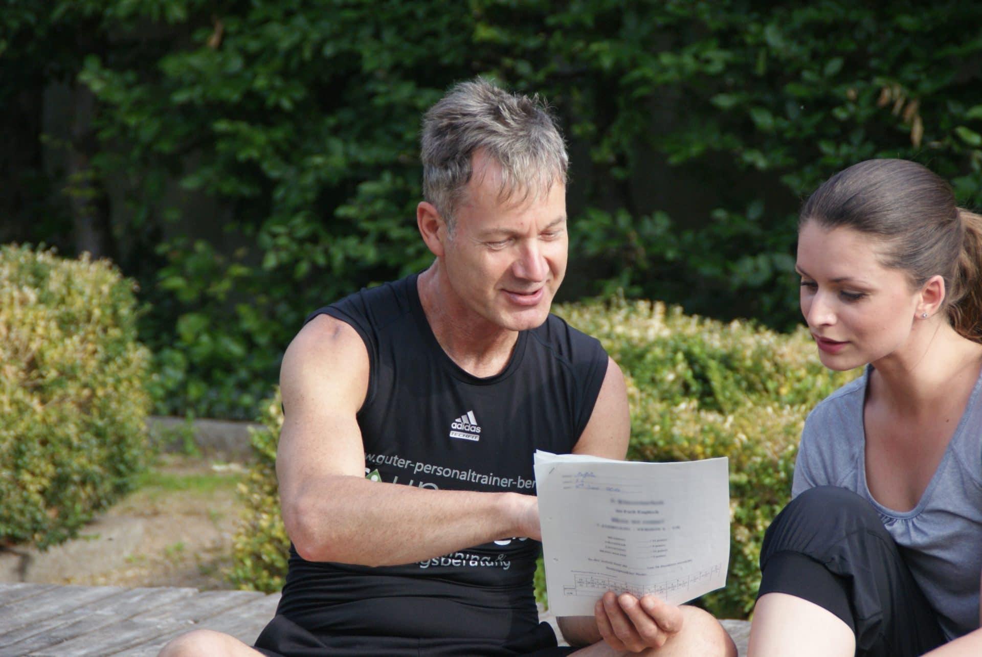 Coach und Personal Trainer für Fitness