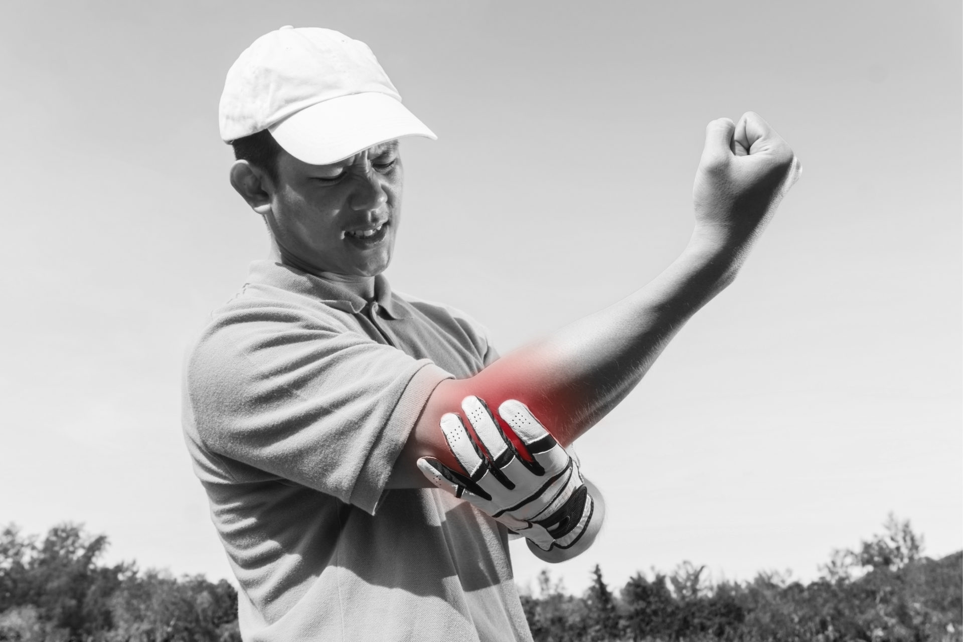 Golferarm wie behandeln
