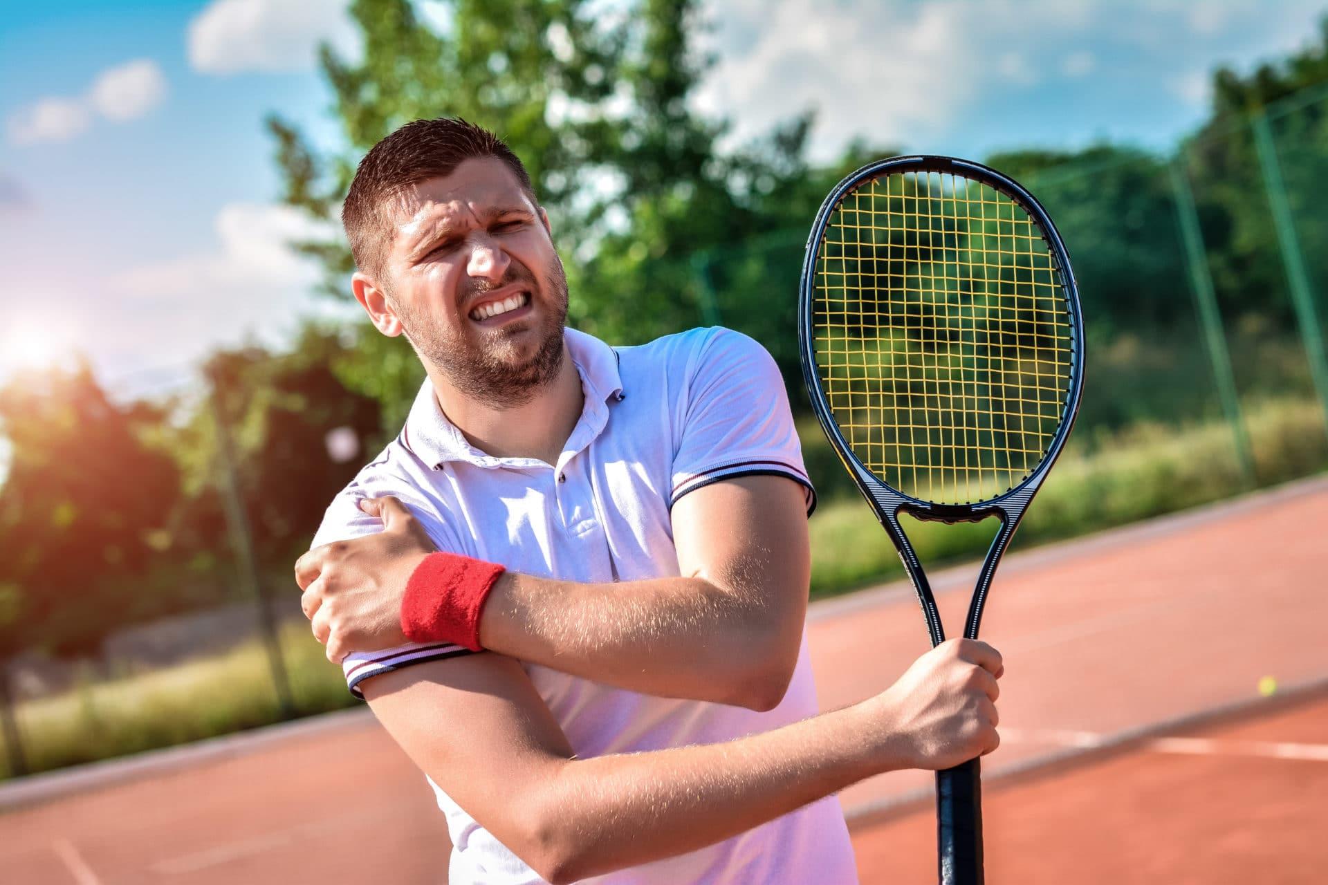 Tennis Verletzung wie behandeln